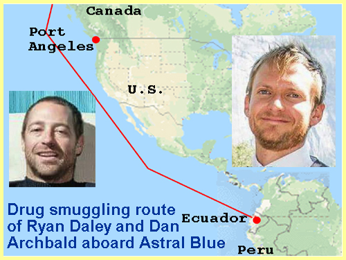 Drug Smuggling, Dead Men, Sailboats and Ecuador